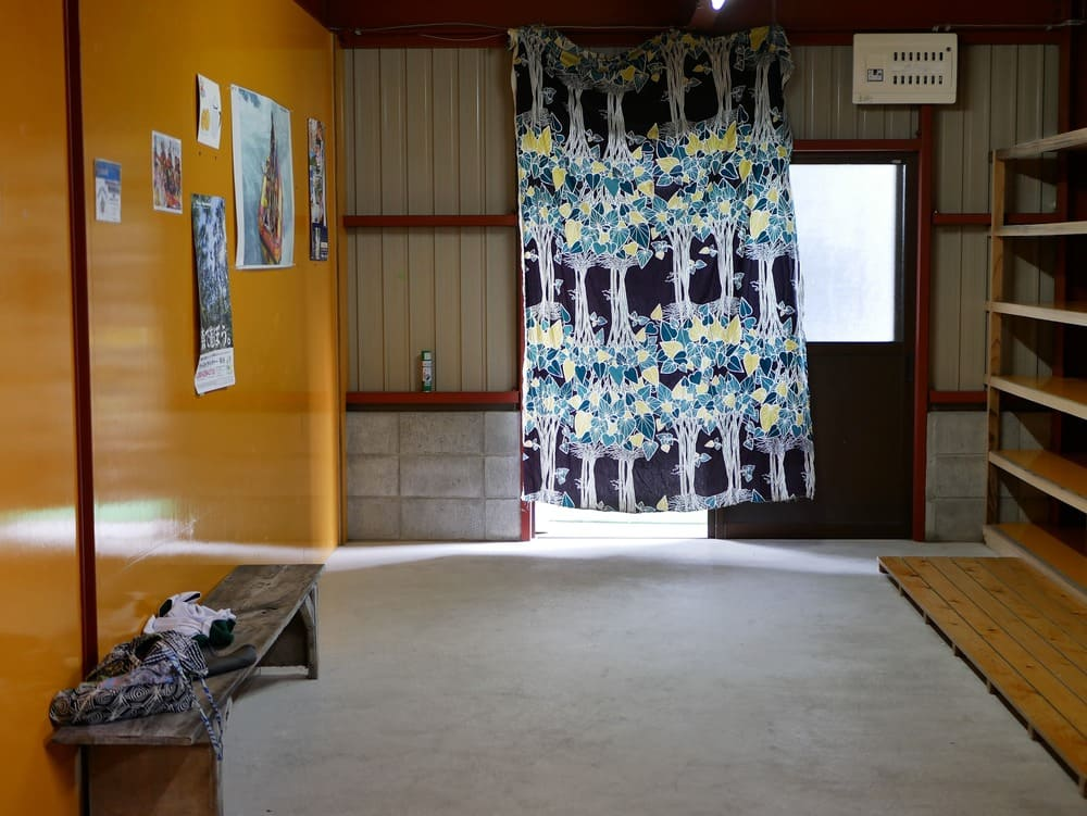 ハッピーラフトの女子更衣室