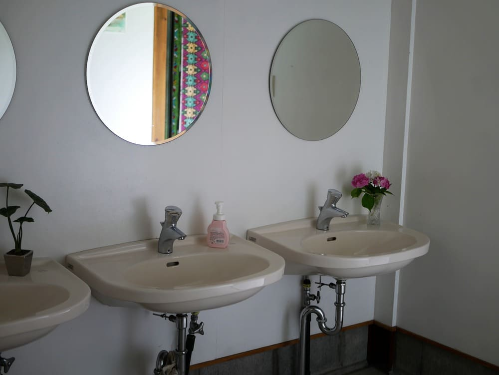 ハッピーラフトのトイレ