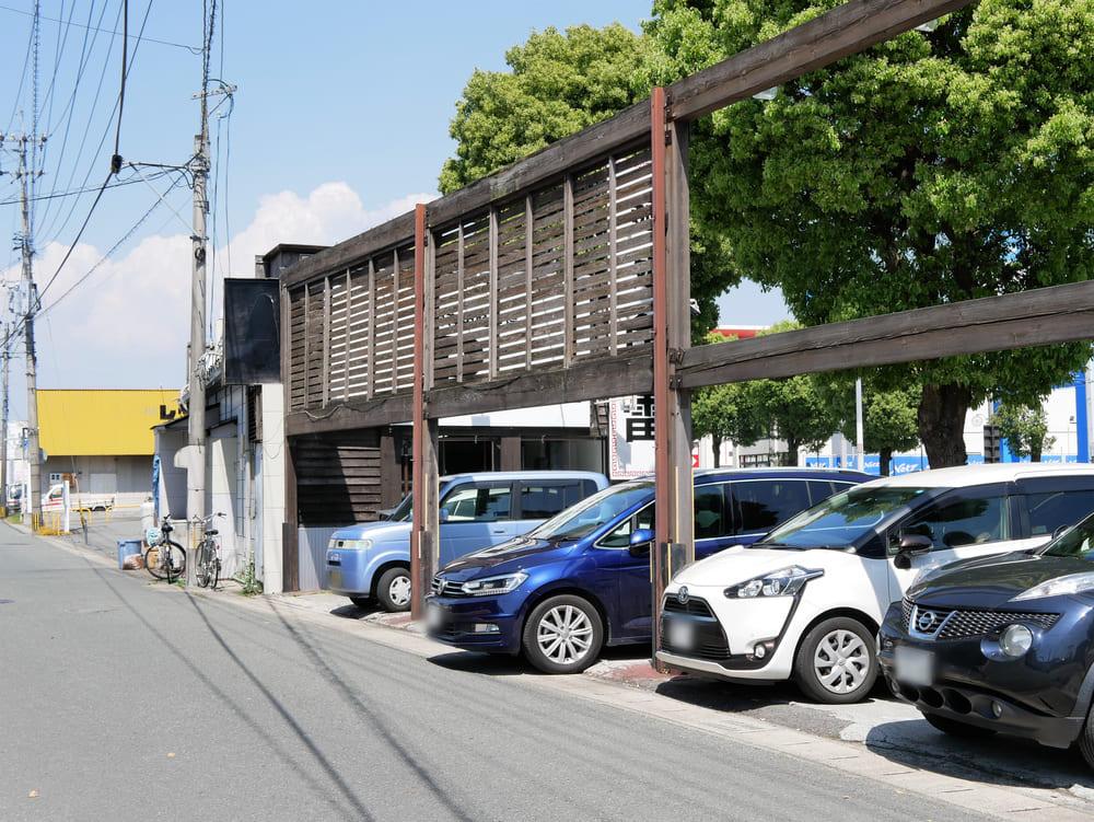 魚雷の駐車場