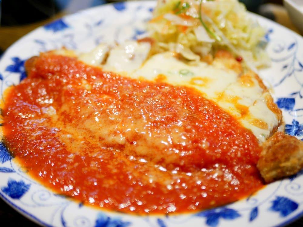 イタリアンポークカツレツ膳②