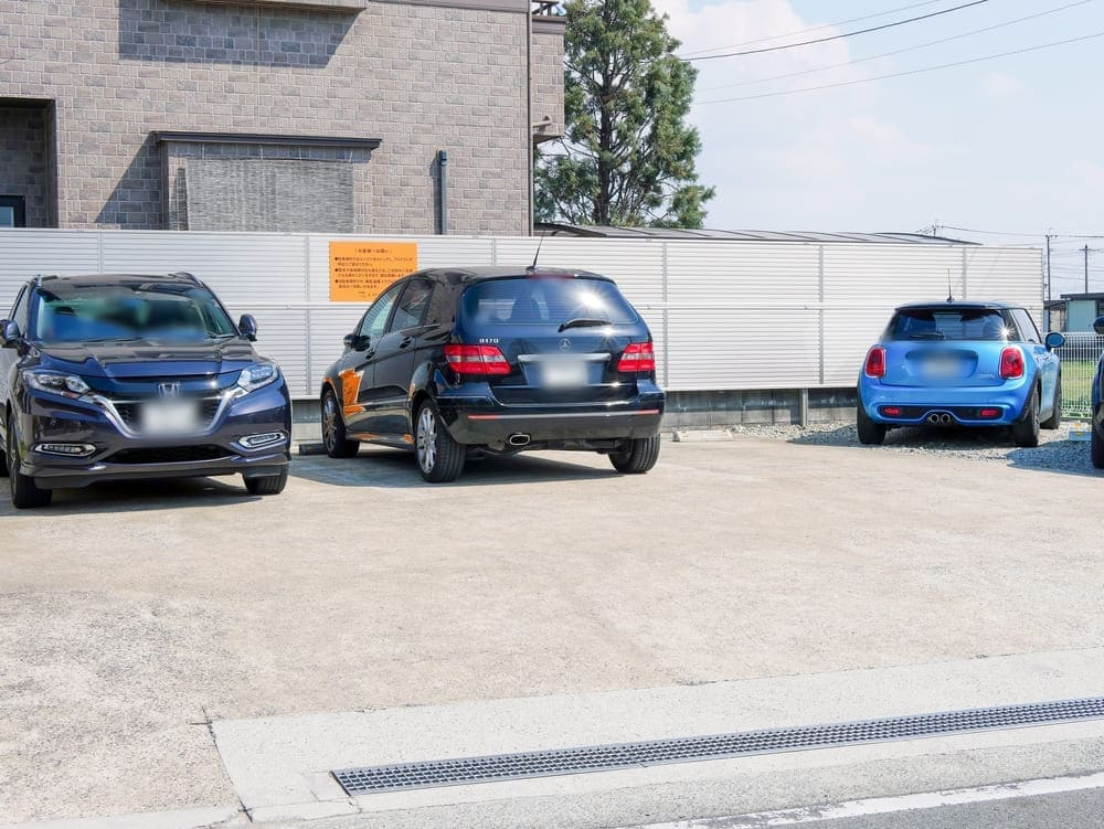 イングの第2駐車場②