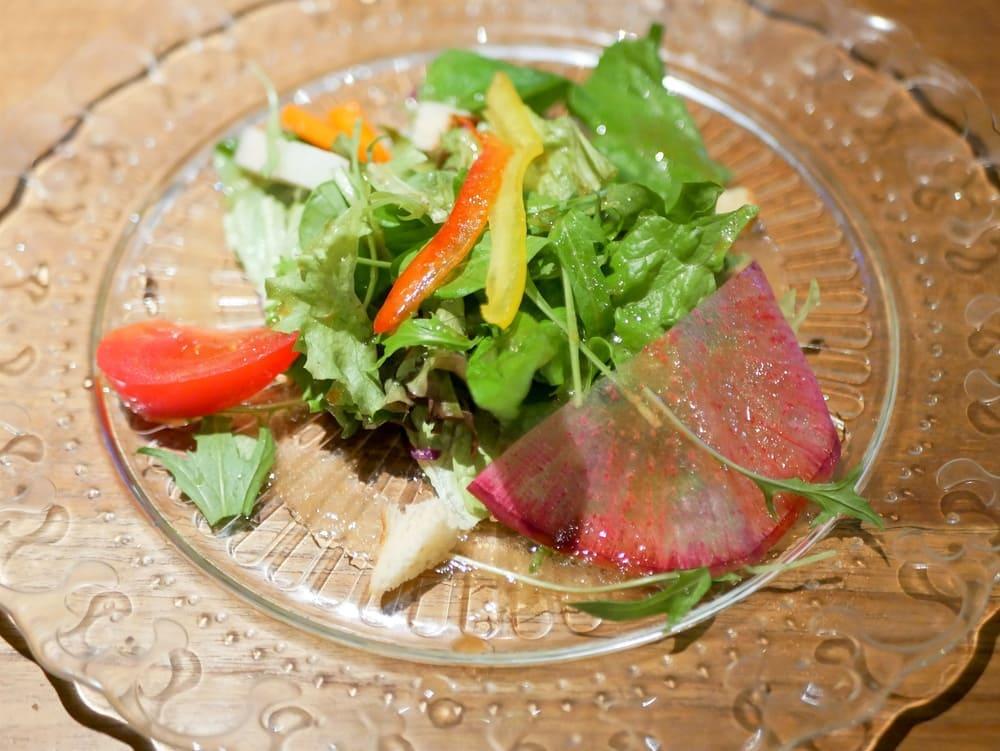 パスタランチのサラダ
