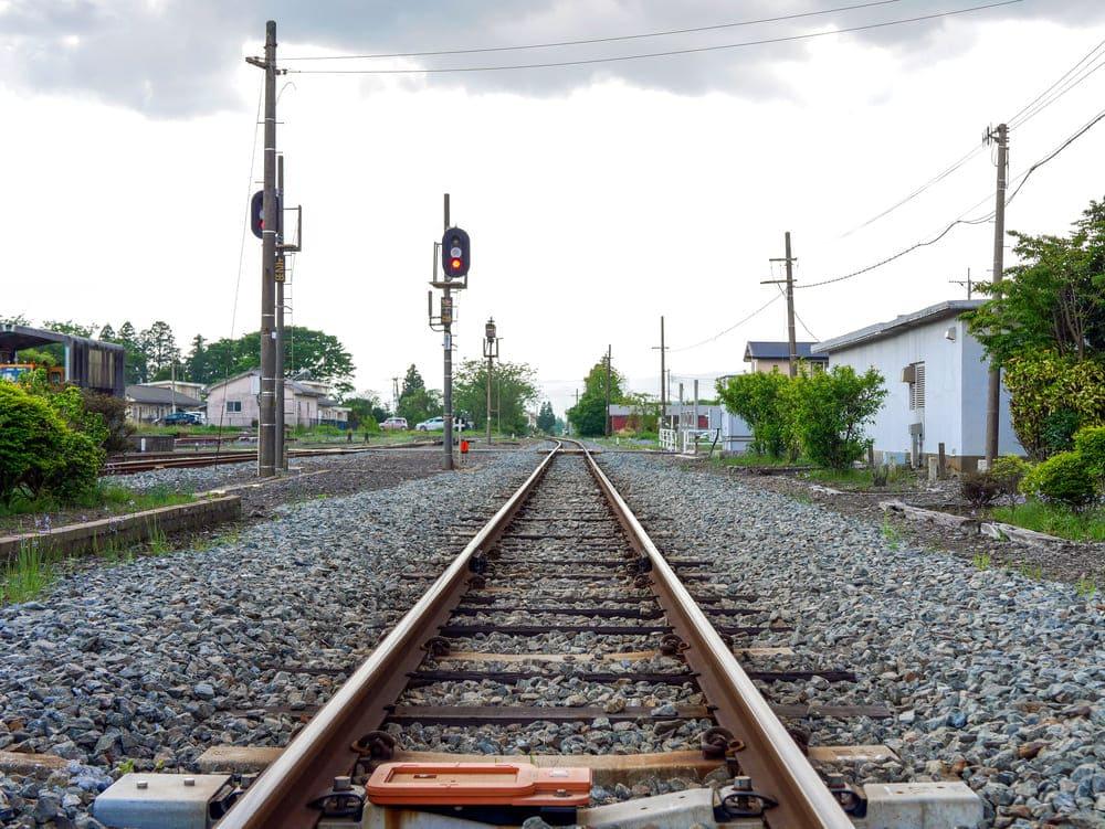 宮地駅の景色