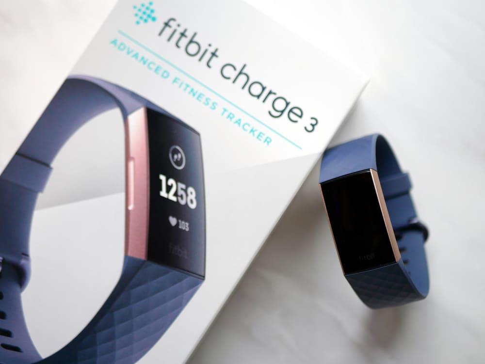 Fitbitの外箱と本体