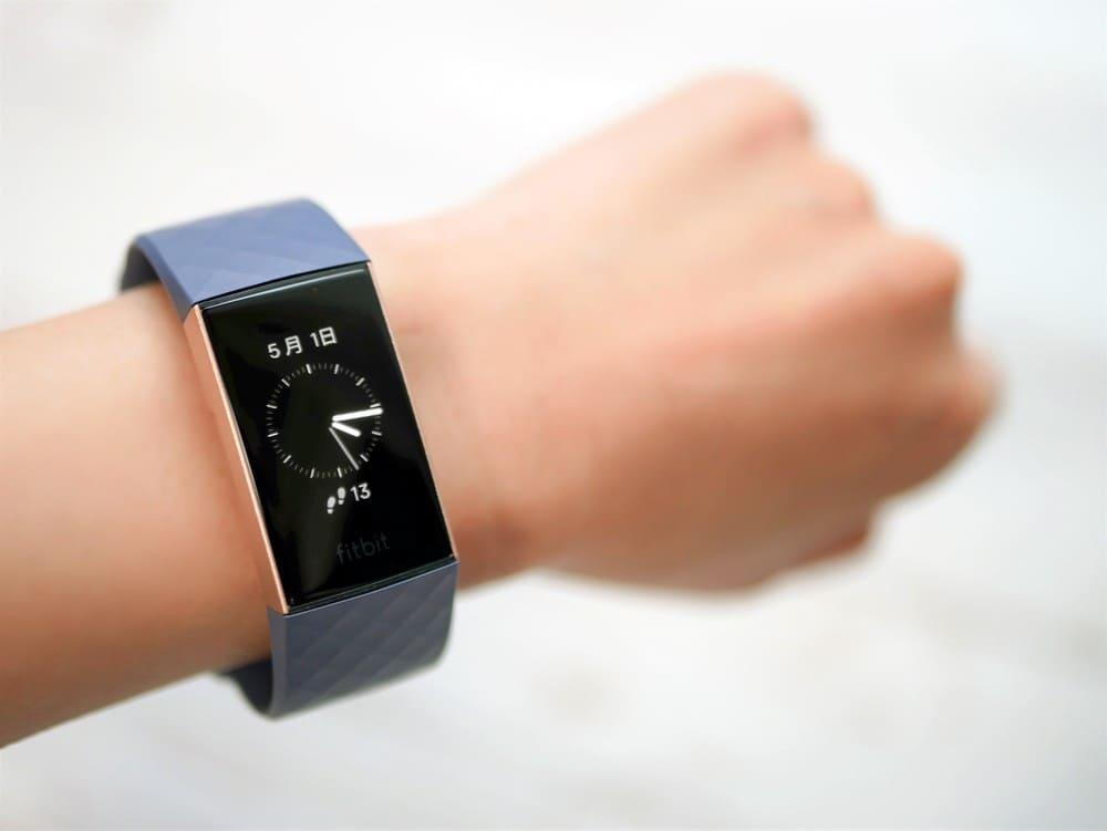 Fitbit装着写真